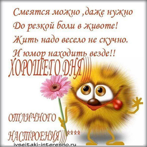 Позитивные картинки с добрым утром для поднятия настроения (9)