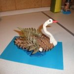 Птицы из природных материалов своими руками