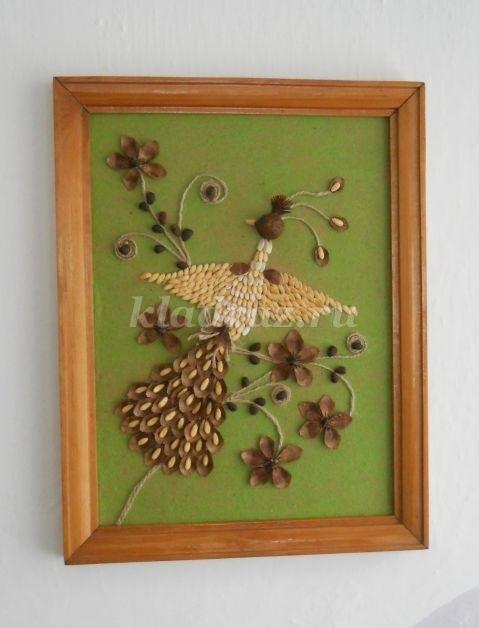 Птицы из природных материалов своими руками 011