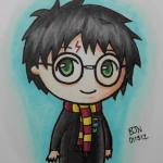 Рисунки Гарри Поттер для срисовки