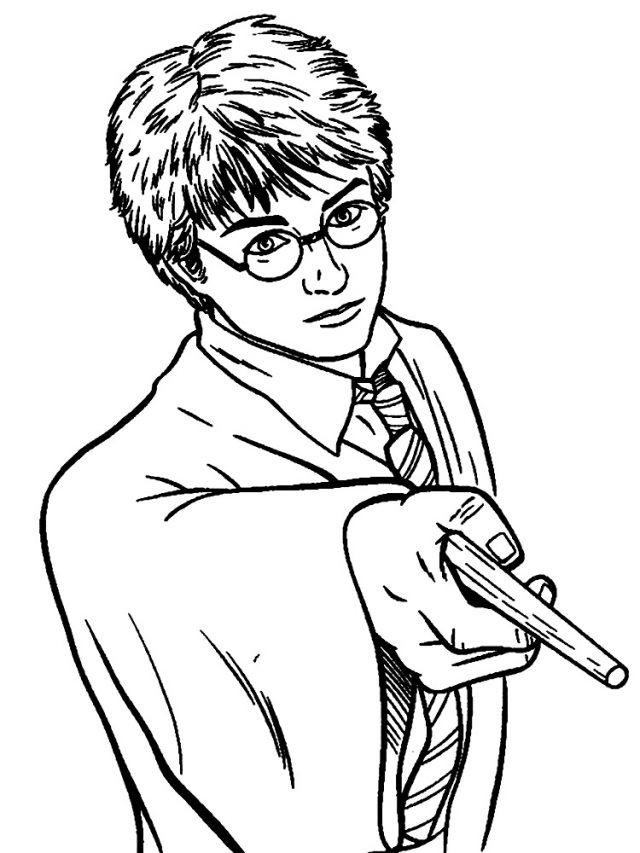 Рисунки Гарри Поттер для срисовки (26)