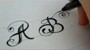 Рисунки как нарисовать букву С красиво 022