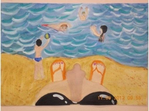 картинки как я провела лето на море близится