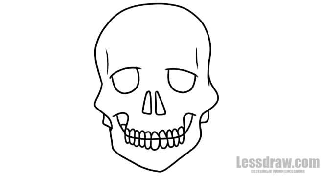 Рисунки хэллоуин картинки карандашом 002