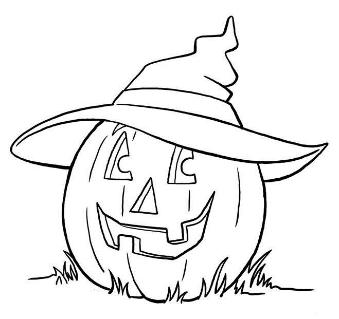 Рисунки хэллоуин картинки карандашом 019