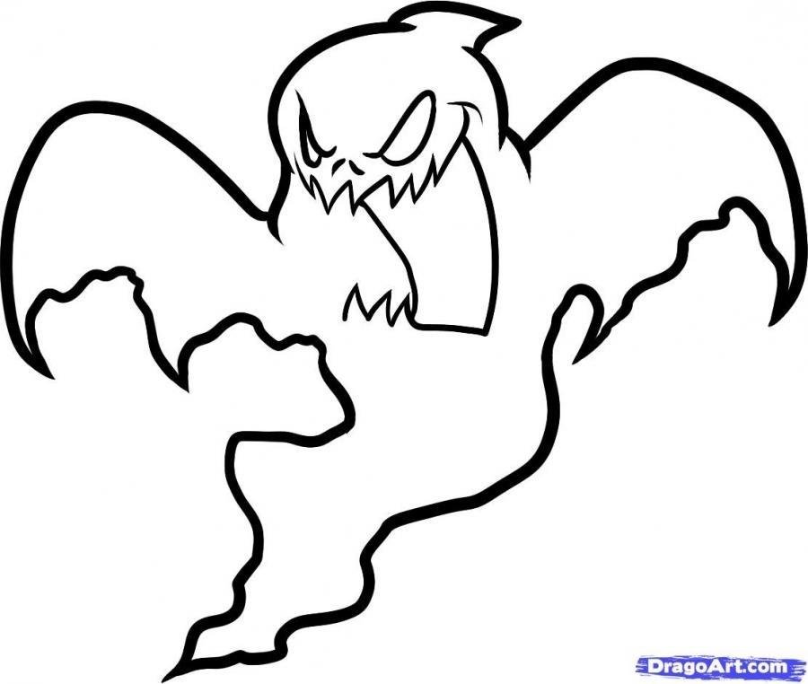 Рисунки хэллоуин картинки карандашом 020