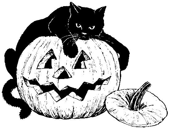 Рисунки хэллоуин картинки карандашом 022