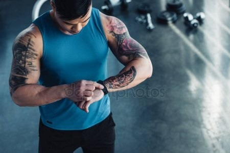 Спортивные тату для спортсмена 001