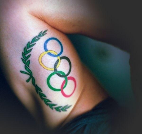 Спортивные тату для спортсмена 004