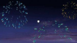 С днем рождения анимация салют 010