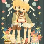 С днем рождения аниме арты — подборка