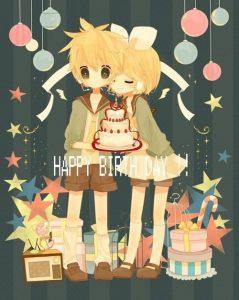 С днем рождения аниме арты 019