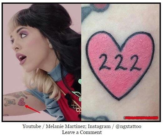 Татуировки мелани мартинес 006