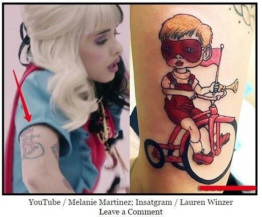 Татуировки мелани мартинес 013