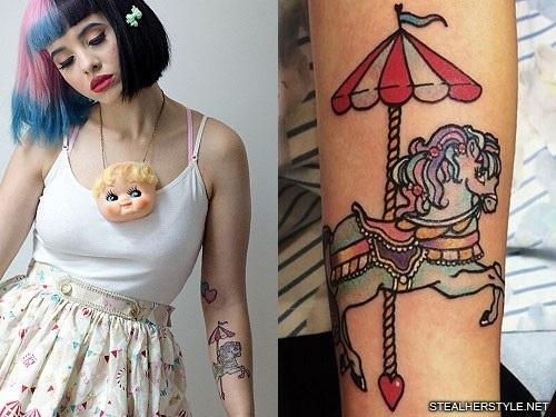 Татуировки мелани мартинес 014