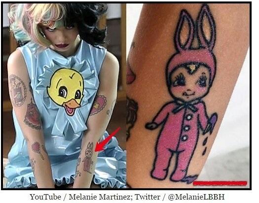Татуировки мелани мартинес 018
