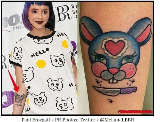 Татуировки мелани мартинес 020