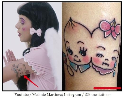 Татуировки мелани мартинес 021