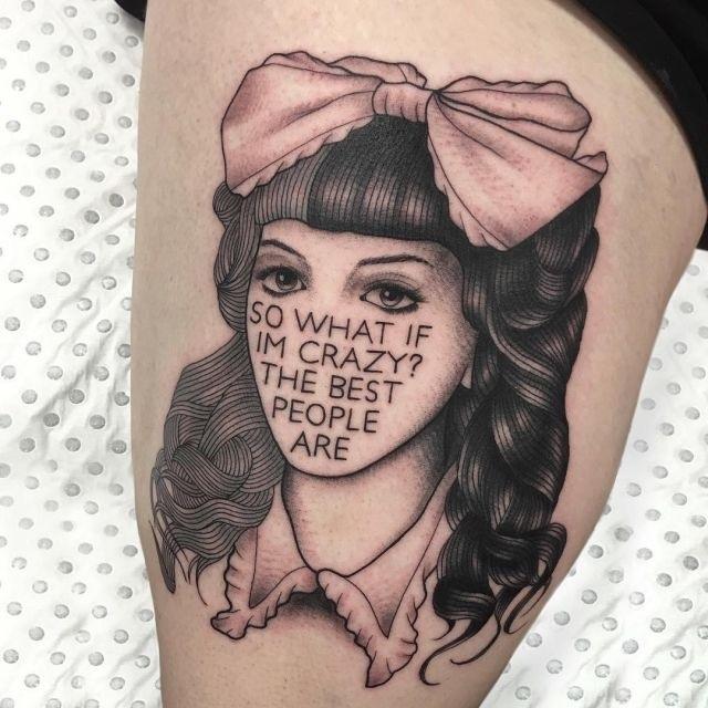 Татуировки мелани мартинес 023