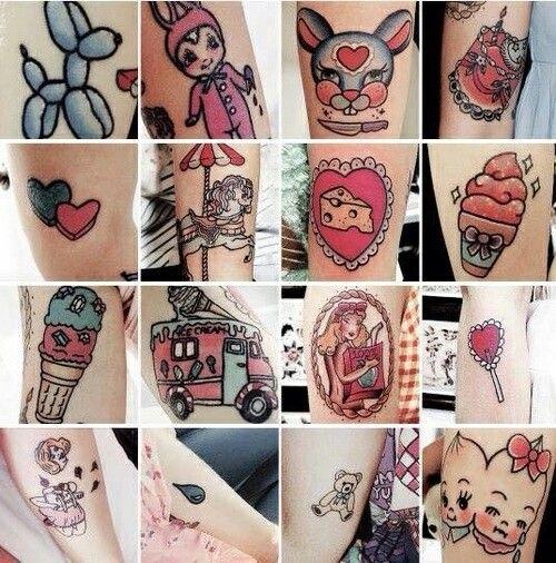 Татуировки мелани мартинес 024