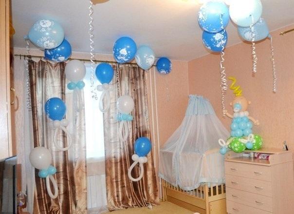 Украшение комнаты для ребенка 002