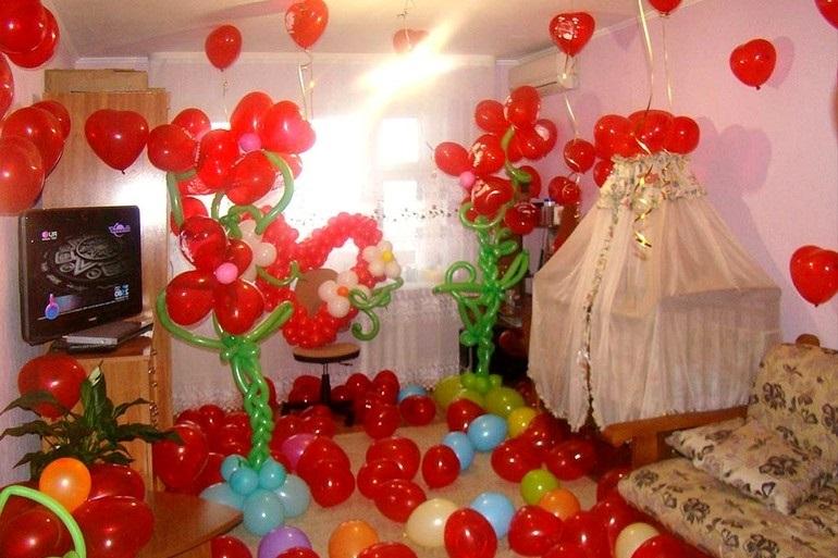 Украшение комнаты для ребенка 017