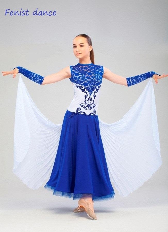 Фото бальных платьев для танцев 001