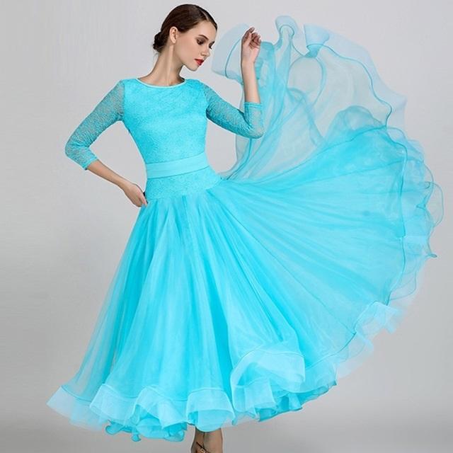 Фото бальных платьев для танцев 002