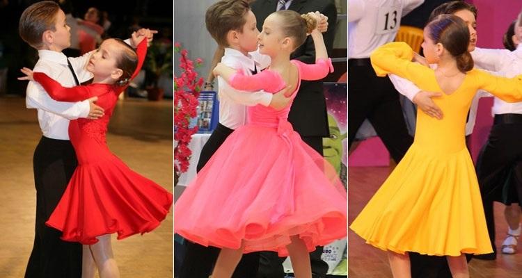 Фото бальных платьев для танцев 004