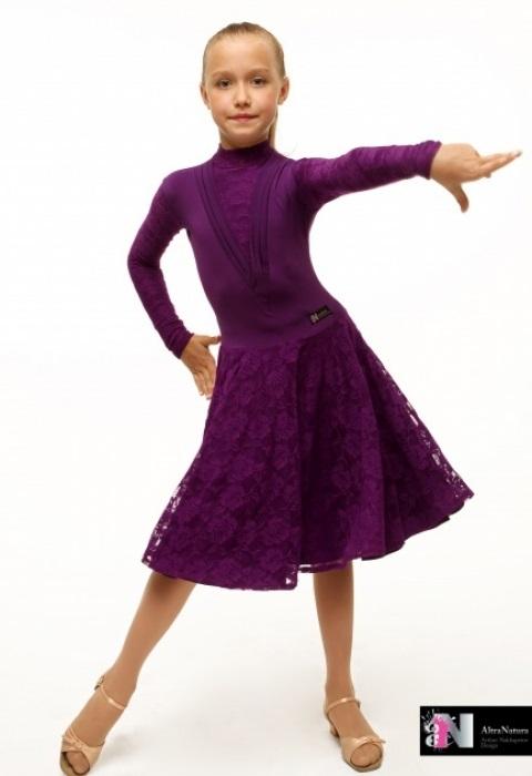 Фото бальных платьев для танцев 008
