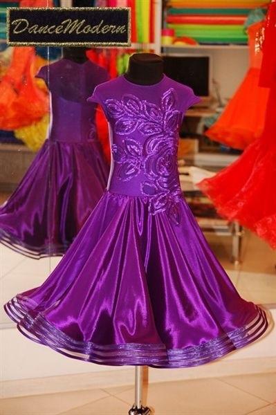 Фото бальных платьев для танцев 011
