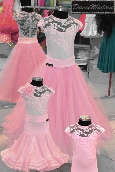 Фото бальных платьев для танцев 015