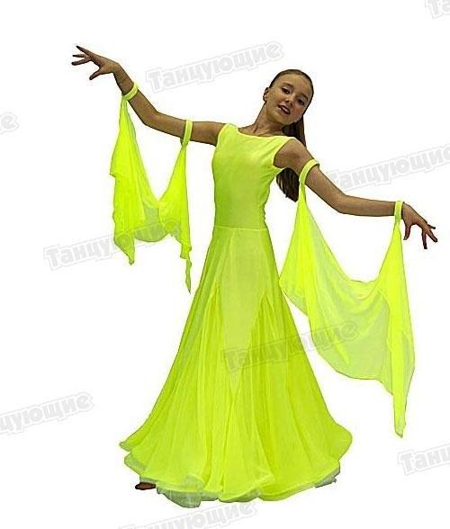 Фото бальных платьев для танцев 018