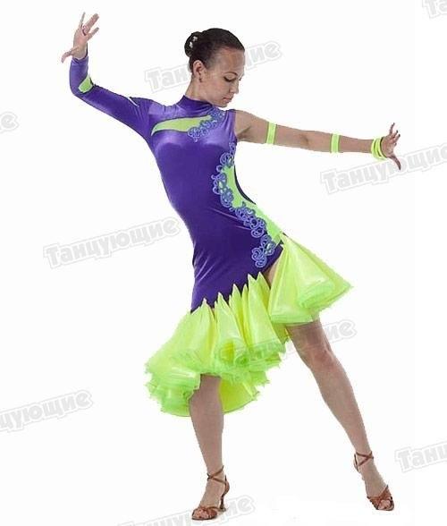 Фото бальных платьев для танцев 020