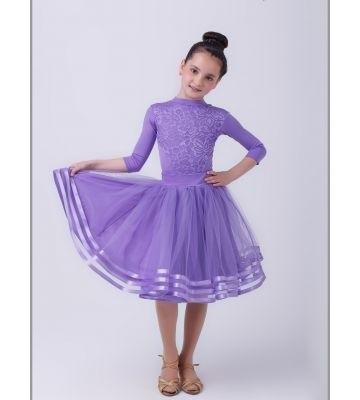 Фото бальных платьев для танцев 023