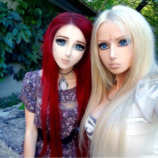 Фото девушек у которых кукольное лицо 016