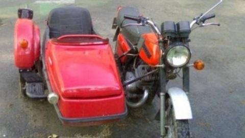 Фото мотоцикл с люлькой 003