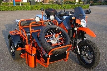 Фото мотоцикл с люлькой 005