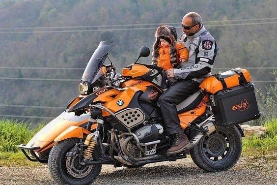 Фото мотоцикл с люлькой 007