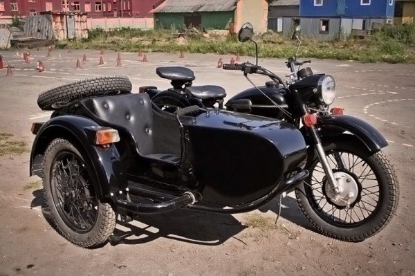 Фото мотоцикл с люлькой 010