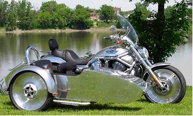 Фото мотоцикл с люлькой 011