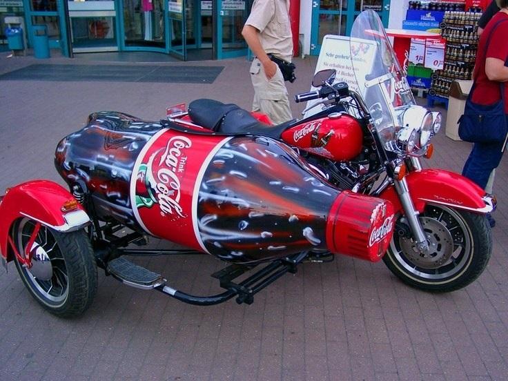 Фото мотоцикл с люлькой 015