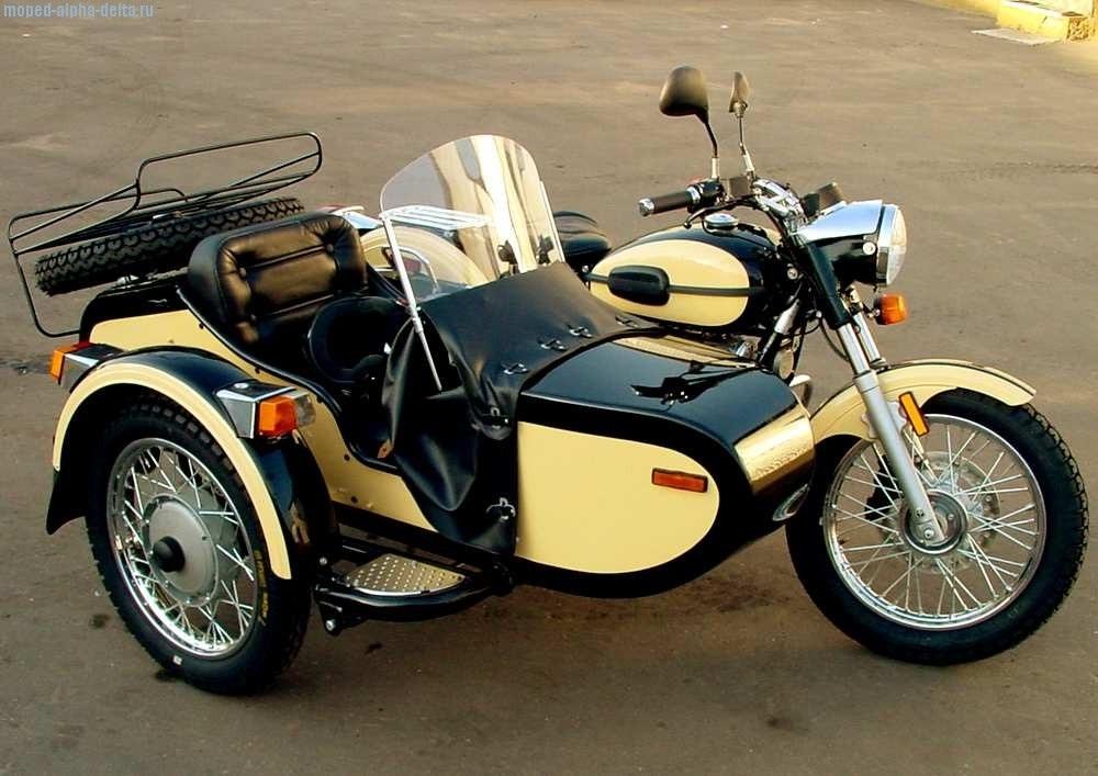 Фото мотоцикл с люлькой 017