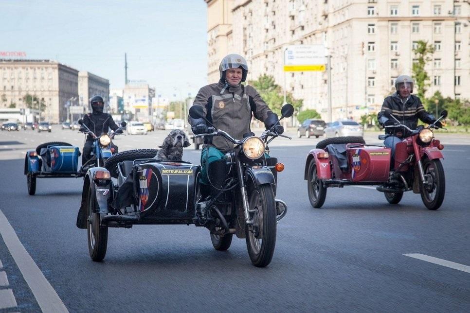 Фото мотоцикл с люлькой 018