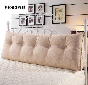 Фото подушек на большой кровати 012