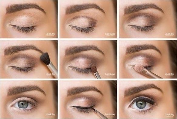 Фото примеры красивого макияжа 003
