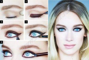Фото примеры красивого макияжа 007