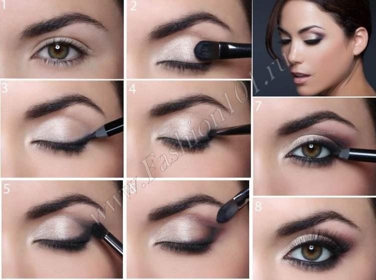 Фото примеры красивого макияжа 008