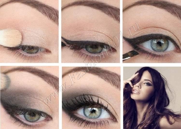 Фото примеры красивого макияжа 009