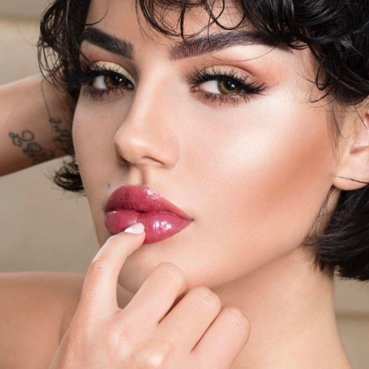 Фото примеры красивого макияжа 010